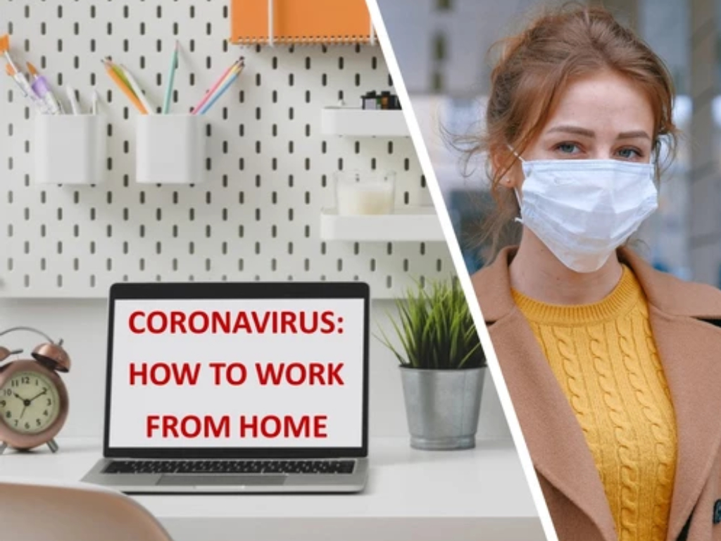 Work from home during a pandemic