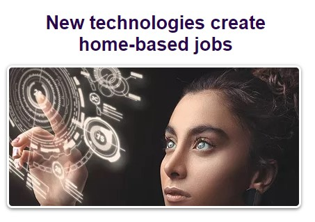 New technologies and online jobs