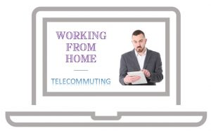 Working from home online and telecommuting jobs