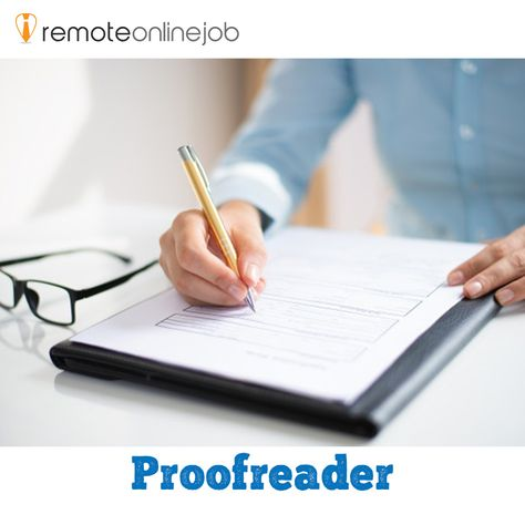 Proof reading can be a side hustle and can also make a lot of money at home if done full time