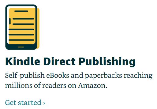 Start selling on Amazon KDP