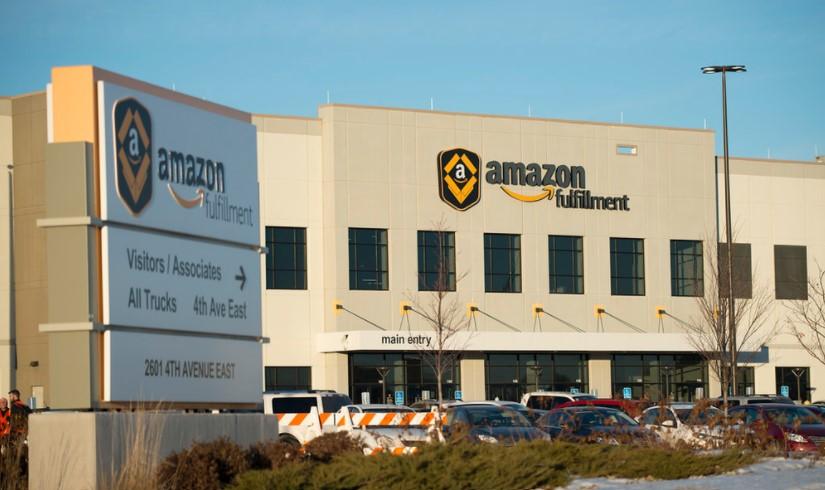 Image of Amazon fulfillment center