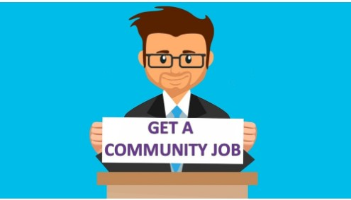 Community job are important people in need