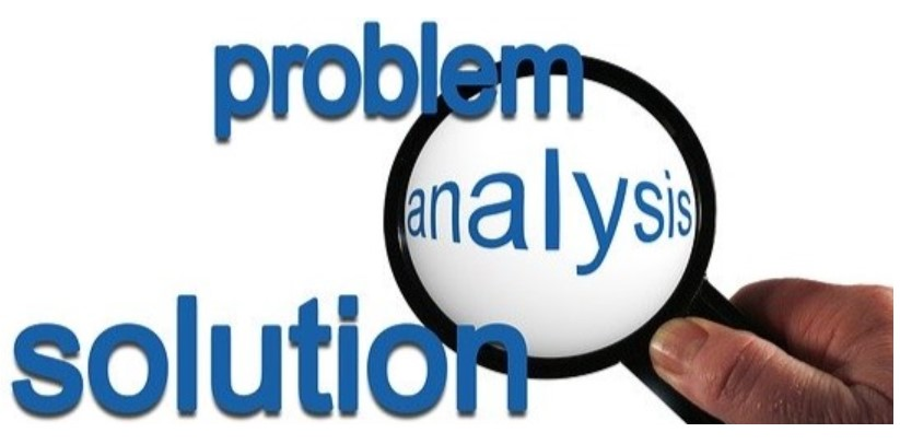 Problem analysis in forensic jobs
