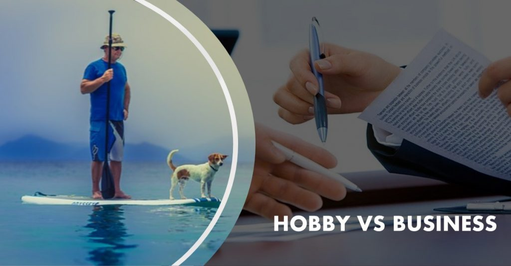 Hobby vs business