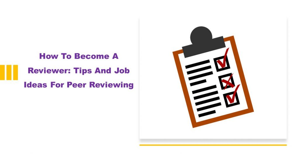 How to become a reviewer
