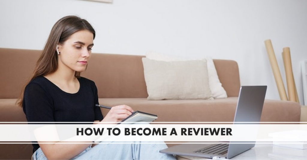 Becoming a peer reviewer