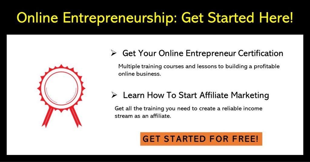 Become an online entrepreneur